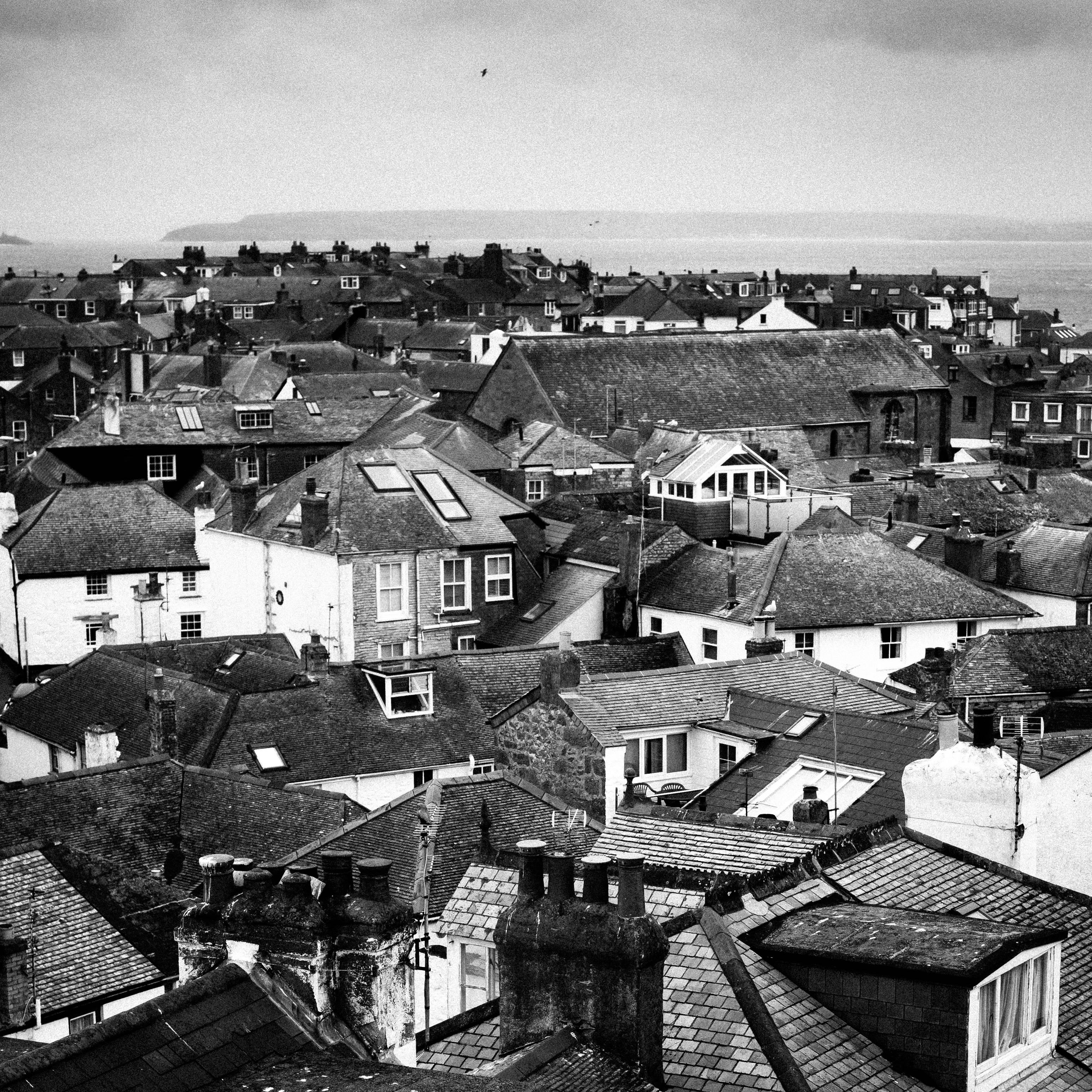 View of Charlestown, Cornwall - 08/14