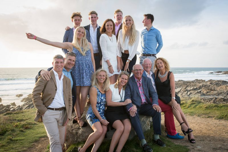 Family - Sandymouth Bay, Devon - 10/14