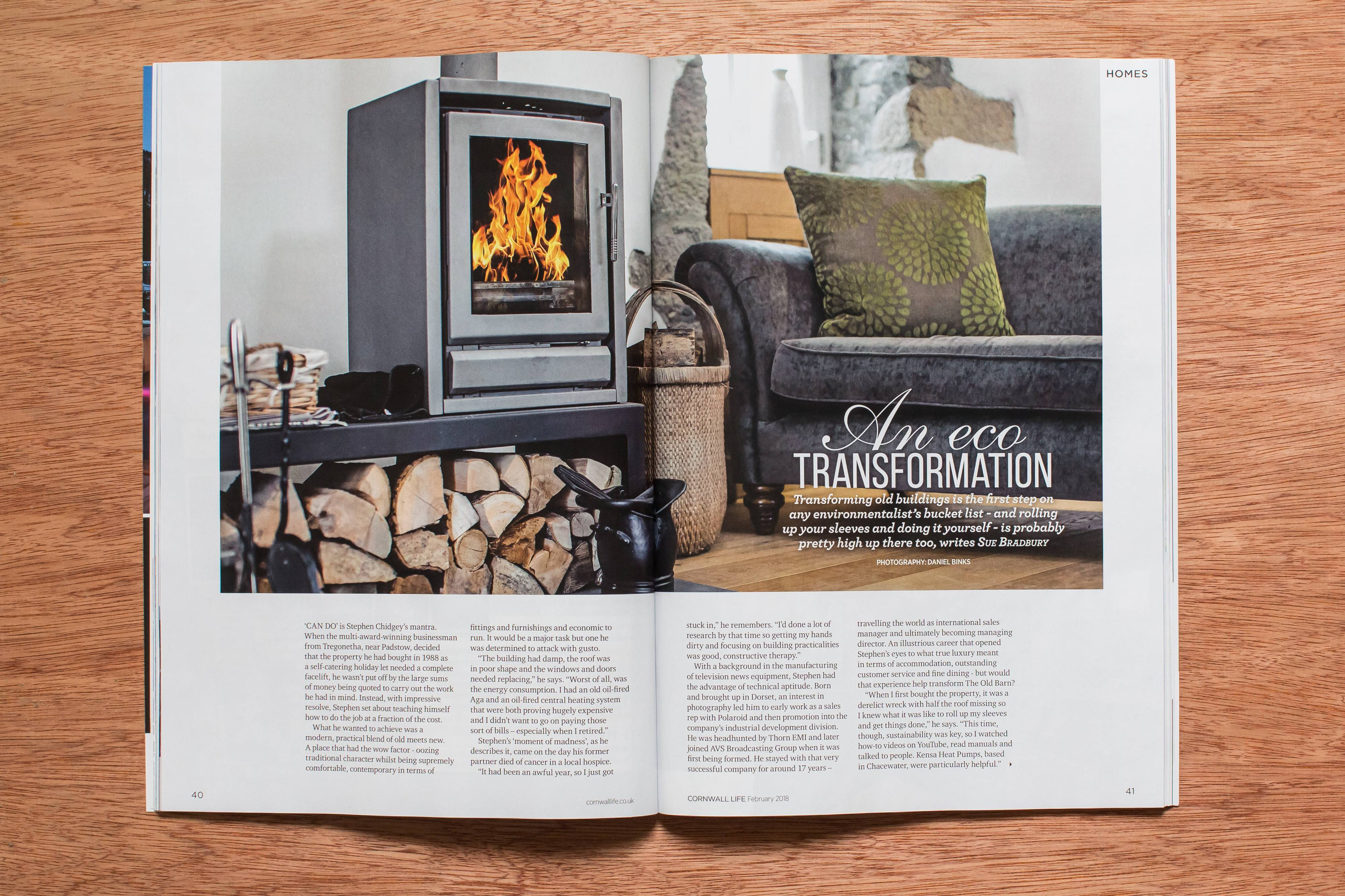 Interior photography for editorial article in cornwall life magazine solutioingenieria Images